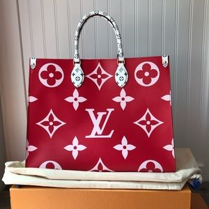 Louis Vuitton Giant Onthego Rouge